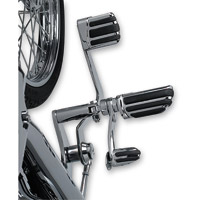 Kuryakyn Chrome Pilot Brake Pedal Pad
