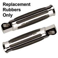 Ness-Tech Horizontal Footpeg Replacement Rubbers