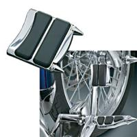 Kuryakyn Chrome Stiletto Brake Pedal Pad