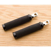 Performance Machine Black Round Footpegs