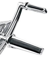 Performance Machine Chrome Contour Footpegs