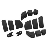 Kuryakyn Replacement Rubber for Swingwing Pegs
