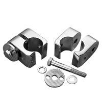 J&P Cycles® Chrome Universal Mounts