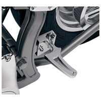 Alloy Art Chrome Contour Passenger Footpegs