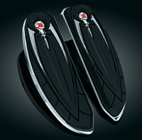 Kuryakyn Widow Driver Floorboard Covers