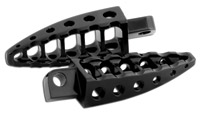 Roland Sands Design Black Moto Footpegs with 45° Male Mount
