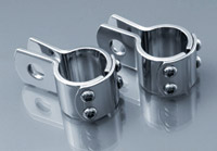 Rivco 1-1/4″ Chrome Three Piece Clamps