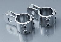 Rivco 1-1/4″ Chrome Three Piece Clamps