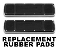 Paughco Replacement Floorboard Rubbers