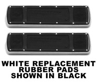 Paughco White Replacement Floorboard Rubbers