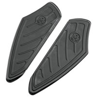 Performance Machine Black Ano Contour Driver Floorboards
