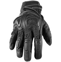 Speed and Strength Moment of Truth SP 2.0 Black Leather/Mesh Gloves