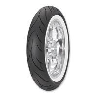 Avon AV71 Cobra 100/90-19 Wide Whitewall Front Tire
