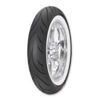 Avon AV71 Cobra 100/90-19 Wide Whitewall Front Tire