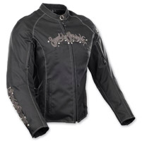 Speed and Strength To the Nines Textile Black Jacket