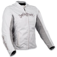 Speed and Strength To the Nines Textile White and Gray Jacket