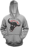 Speed and Strength Faster/Stronger Bull Headed Hoodie