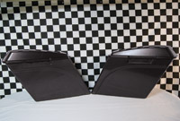Fairing Factory LLC. Extended Saddlebags with Lids
