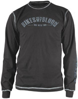 Speed and Strength Bikes are in My Blood Black Thermal