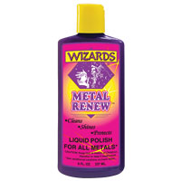 Wizards Metal Renew Polish 8 oz Bottle