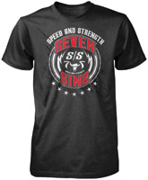 Speed and Strength Men's Seven Sins Heather Charcoal T-shirt