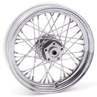 Biker's Choice 40-Spoke Dual Flange Wheel Assembly, 16 x 3.00