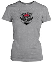 Speed and Strength Women's Six Speed Sisters Heather Gray T-shirt