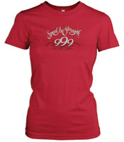 Speed and Strength To The Nines Red T-shirt