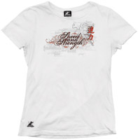 Speed and Strength Women's True Romance White T-shirt