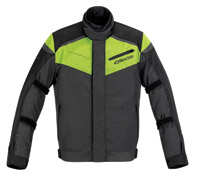 Alpinestars Lucerne Drystar Anthracite and Yellow Fluo Jacket
