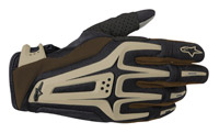 Alpinestars Dual Black, Brown, and Sand Gloves