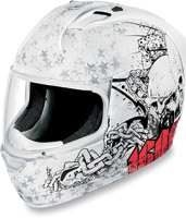 ICON Alliance Torrent White Full Face Helmet