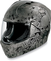 ICON Alliance Torrent Charcoal Full Face Helmet