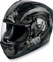 ICON Alliance Harbinger Black Full Face Helmet