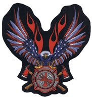 Lethal Threat Stars N Stripes FD Eagle Patch