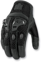 ICON Justice Men's Stealth Mesh Motorcycle Gloves