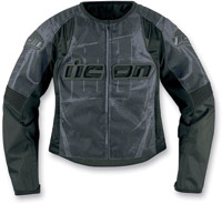 ICON Overlord Type 1 Black Women's Jacket