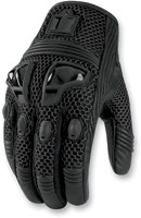 ICON Justice Women's Stealth Mesh Motorcycle Gloves