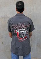 Sick Boy Garage Car Work Shirt