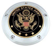 Custom Engraving Ltd. Army Derby Cover