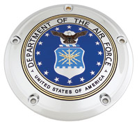 Custom Engraving Ltd. Air Force Derby Cover