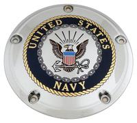 Custom Engraving Ltd. Navy Derby Cover