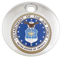 Custom Engraving Ltd. Air Force Fuel Door Cover