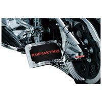 Curved Horizontal Side Mount License Holder