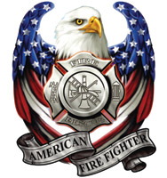 Lethal Threat USA FD Eagle Decal