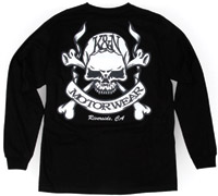 K&N Skull and Bones Long-Sleeve T-shirt