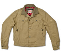 Roland Sands Design Hesher Duck Canvas Khaki Jacket
