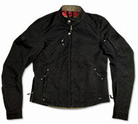 Roland Sands Design Lazy Boy Black Duck Canvas Jacket