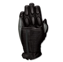 Roland Sands Design Diesel Black Leather Gloves