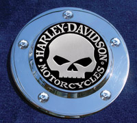Motordog69 Harley Skull Timing Cover Set